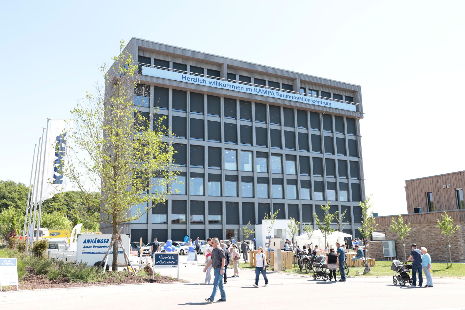Tag der offenen Tür bei KAMPA - Besuchen Sie das KAMPA Bauinnovationszentrum und das Musterhaus
